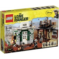 Lego The Lone Ranger Colby City Showdown