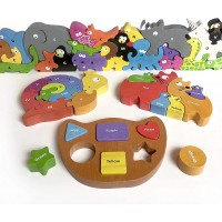 Beginagain Barlowes Box Collection Combines 4 Educational Puzzles 2 And