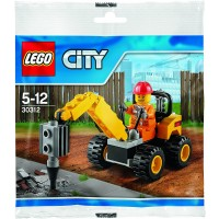 Lego City Demolition Driller