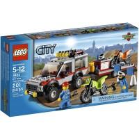 Lego City Town Dirt Bike Transporter