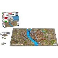 4D Cityscape 4D Budapest Time Puzzle 800