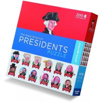 History Is Fun 200 Piece The Great American Presidents