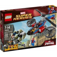 Lego Superheroes 76016 Spiderhelicopter Rescue Discontinued By