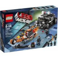 Lego Movie 70808 Super Cycle Chase Discontinued By