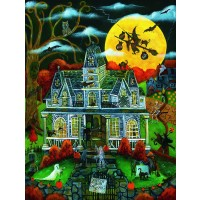 Halloween Potions And Tricks 500 Pc Jigsaw Puzzle By