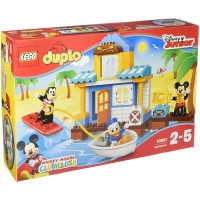 Lego Duplo Disney Junior Mickey Friends Beach House Preschool Prekindergarten Large Building Block