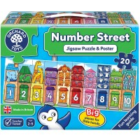 Orchard Toys Number Street Jigsaw