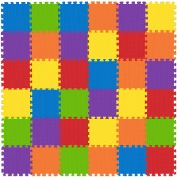 Nontoxic Play Mat Toddlers Childrens Infants Interlocking Foam Puzzle Thickest Baby Mat For Play