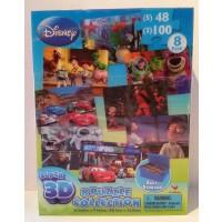 Disneypixar Super 3D 8 Puzzle