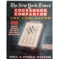 The New York Times Crossword Companion Rollapuzzle With The