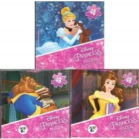 Disney Princess Beauty And Beast Belle Ariel Jasmine Cinderella Milo And Brave Bundle Of 3 48