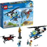 Lego City Sky Police Drone Chase 60207 Building Kit 192