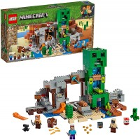 Lego Minecraft The Creeper Mine 21155 Building Kit 834