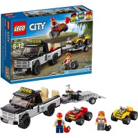 Lego City Atv Race Team 60148 Building Kit With Toy Truck And Race Car Toys 239 Pieces