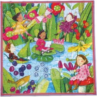 Eeboo Fairies By The Pond Puzzle 64