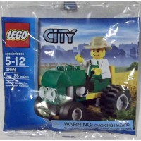 Lego City Tractor Set 4899