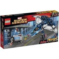 Lego The Avengers Quinjet City