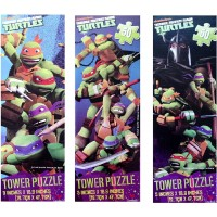 Upd Teenage Mutant Ninja Turtles Tower Puzzles 1 Puzzle Assorted