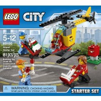 Lego 60100 City Airport Starter Set Building Kit 81
