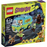 Lego Scoobydoo 75902 The Mystery Machine Building
