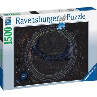 Ravensburger 16213 Map Of The Universe 1500Pc Jigsaw Puzzle