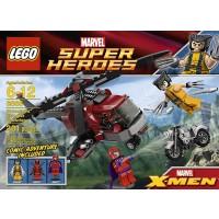Lego Wolverine Chopper Showdown 6866 Discontinued By