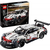 Lego Technic Porsche 911 Rsr 42096 Race Car Building Set Stem Toy Ages 10 Features Model