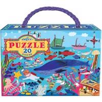 Eeboo Sea Life Puzzle 20