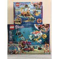 Lego Friends Dolphins Rescue Mission Bundled Friends Turtles Rescue