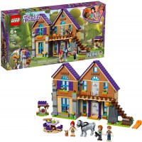 Lego Friends Mias House 41369 Building Kit With Mini Doll Friends Figures And Toy Horse 715 Pieces