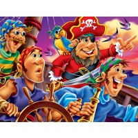 Masterpieces Googly Eyes Pirates Jigsaw Puzzle