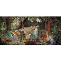 Artifact Puzzles Sleeping Princess Wooden Jigsaw