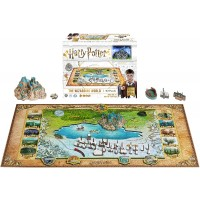 4D Cityscape Harry Potter Wizarding World Hogwarts Hogsmeade Puzzle