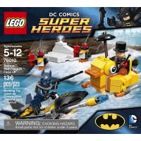 Lego Dc Superheroes Batman The Penguin Face Off 76010 Discontinued By