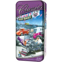 Masterpiece Jigsaw Puzzle Collectible Tin 500 Pieces 13X19 Classics Hot Rod
