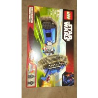 Lego Year 2007 Limited Edition Star Wars Series Vehicle Set 7664 Tie Crawler With 2 Exclusive