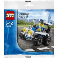 Lego City Police Atv Set 30228