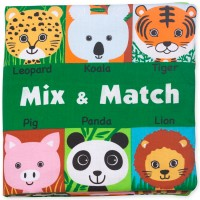 Baby Activity Soft Book - Mix & Match Animals