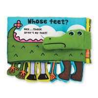 Baby Activity Soft Book - Whose Feet?