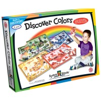 Discover Colors 4 Educational Puzzles Set