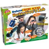 Kids Deluxe Crime Scene Detective Lab
