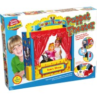 Kids Puppet Theater Craft & Play Set
