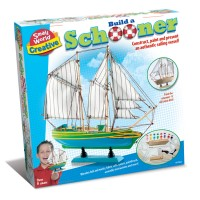 Build a Schooner Ship Craft Kit
