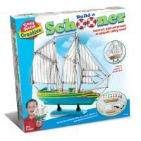 Build a Schooner Ship Craft Kit