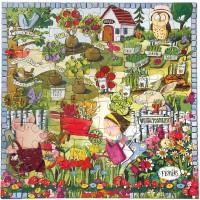Eeboo Growing A Garden Puzzle 64