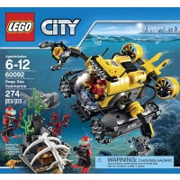 Lego City Deep Sea Explorers 60092 Submarine Building