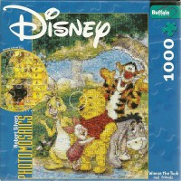 Disney Photomosaics Winnie The Pooh Friends