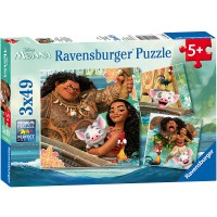 Ravensburger Disney Moana Born To Voyage 49 Piece Jigsaw Puzzle Every Piece Is Unique Pieces Fit