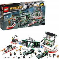 Lego Speed Champions 75883 Mercedes Amg Petronas Formula One Team Building