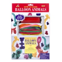 Animal Balloons Twisting Kit for Kids